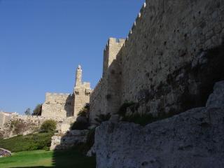 The Old City of Jerusalem Wall