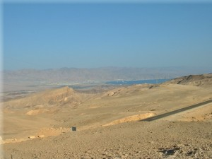 Aqaba, Jordan and Eilat, Israel on the Red Sea