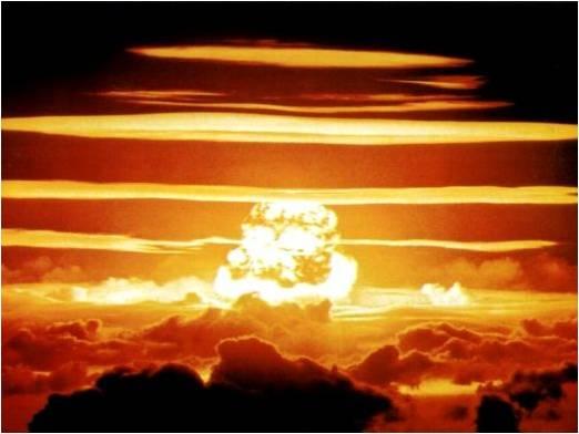 Atomic explosion 7