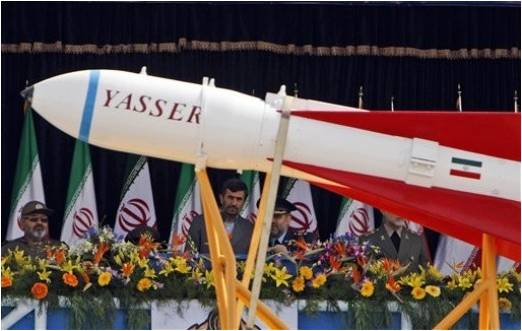 Mahmoud Ahmadinejad Yasser rocket