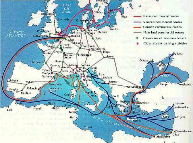 Mediterannean Trade Routes 1