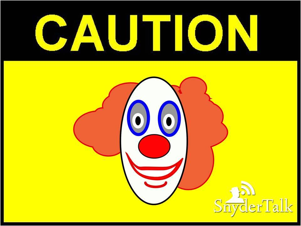 3--Caution Clown