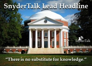 2--SnyderTalk Lead Headline UVA for use