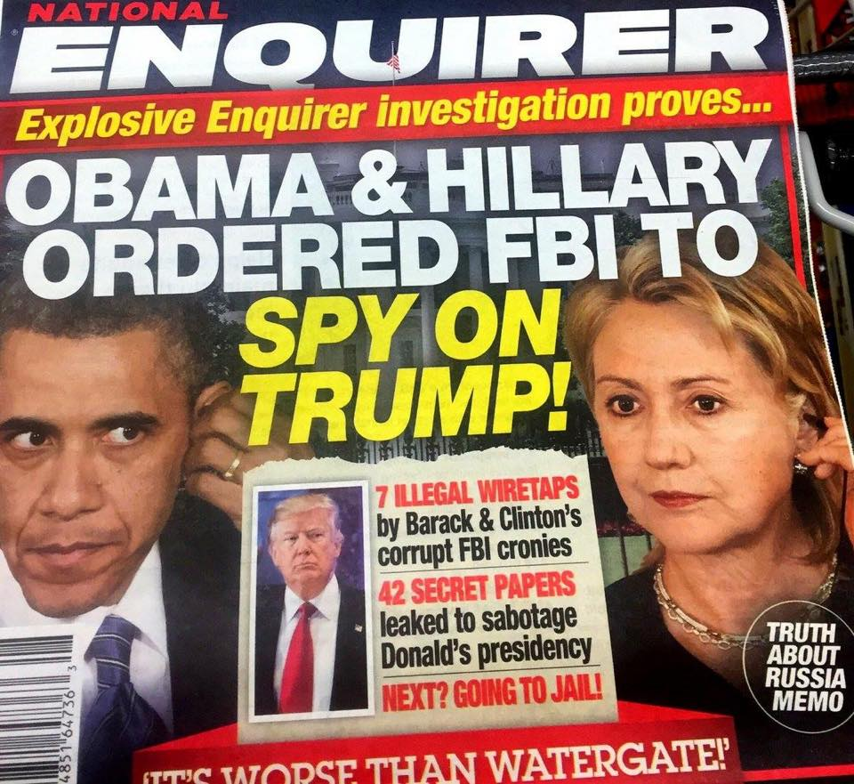 CONFESSIONS OF A HILLARY CLINTON HITMAN TELL ALL NATIONAL ENQUIRER OCTOBER  2016